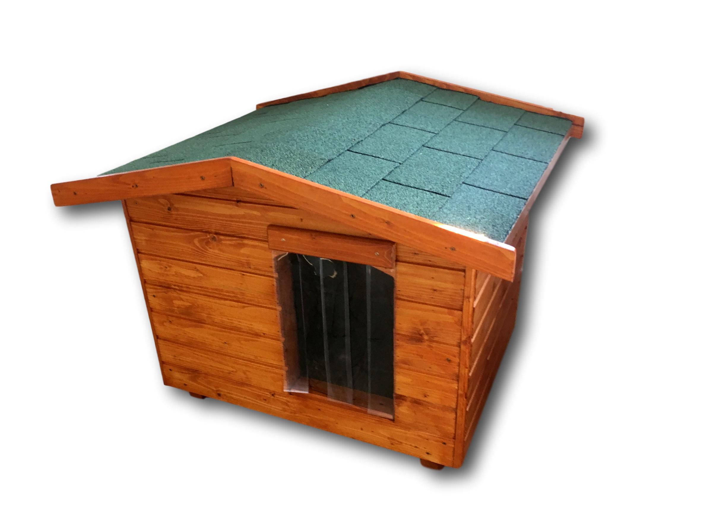 17b670cfb40c Amerikai tetős kutyaházak   80X100 hőszigetelt kutyaház fordított ...