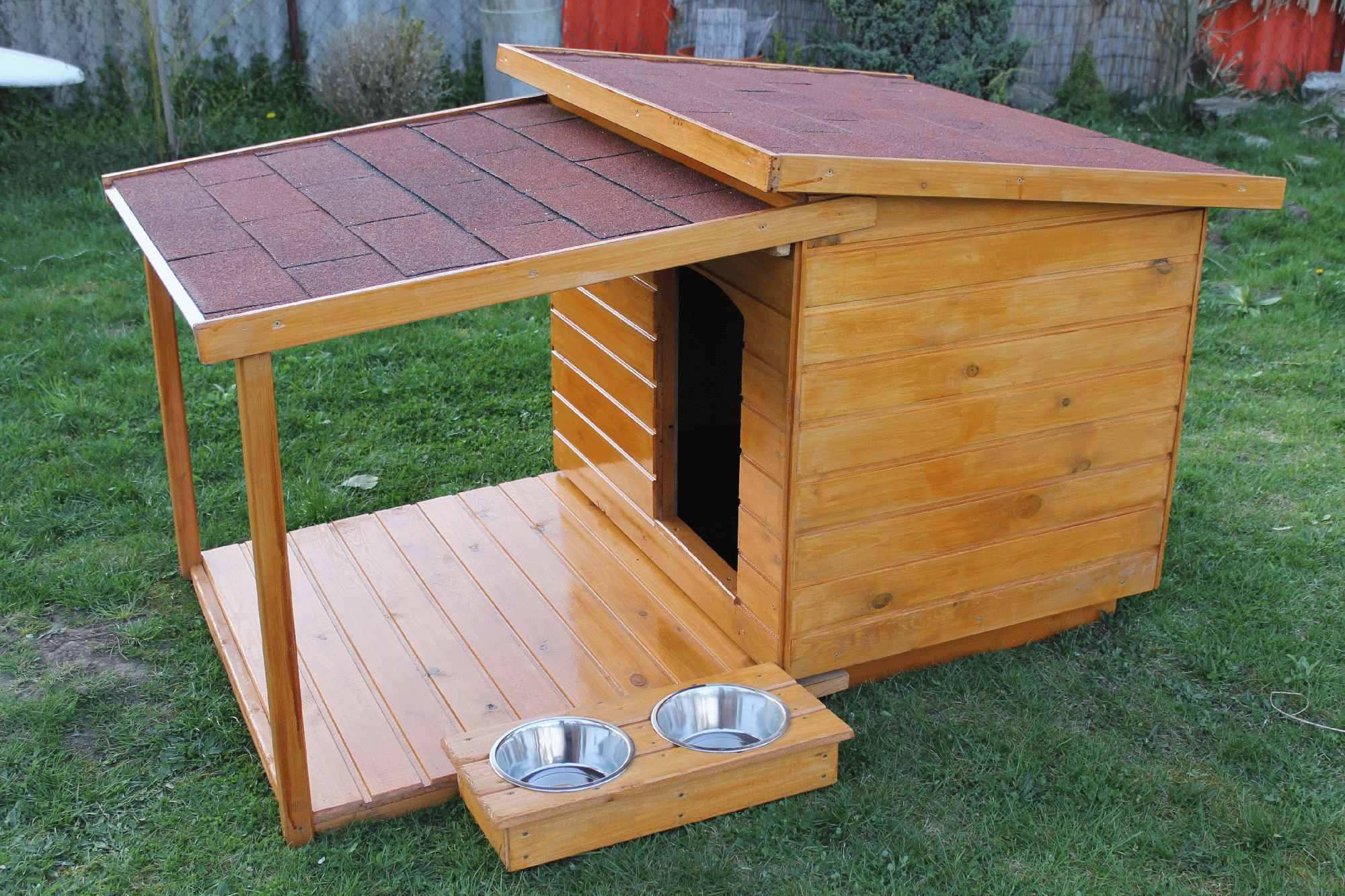 c4c89a8e7cd6 Teraszos kutyaházak   80X100 hőszigetelt kutyaház teraszos   http ...