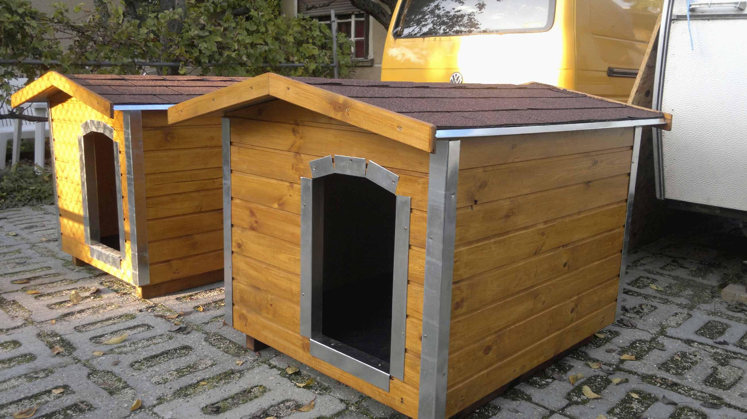 72bd80e6dc07 Amerikai tetős kutyaházak   Élvédőzött 80X100 hőszigetelt kutyaház ...